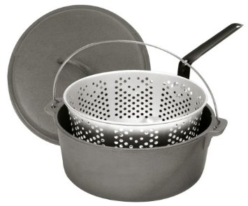 Bayou Classic Dutch Oven with Basket - 8 1/2 Quart