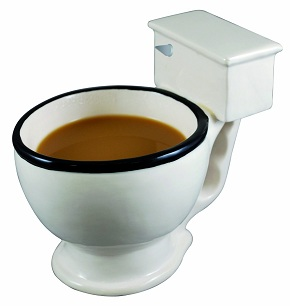 Big Mouth Toilet Mug Unique Gift
