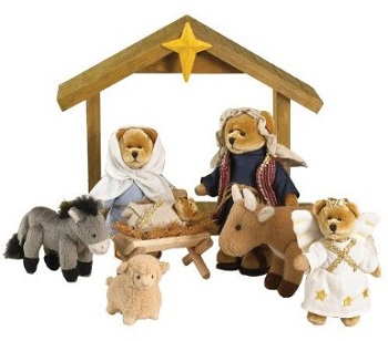 Bodys Bears Nativity Set 2013 Collection