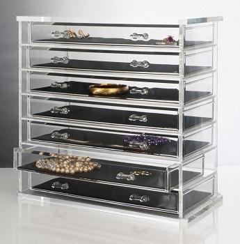 Deluxe 7-drawer Cosmetic Organizer