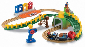 Fisher Price GeoTrax Transportation System Remote Control Timbertown Railway