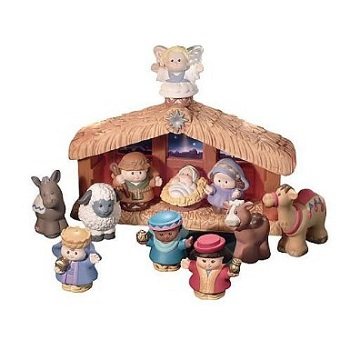 Little People Fisher Price Christmas Story