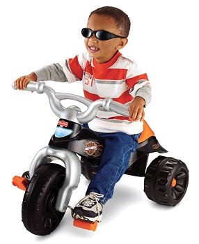 Fisher Price Tough Trike Harley Davidson Motorcycles Ride on Toy for Toddlers
