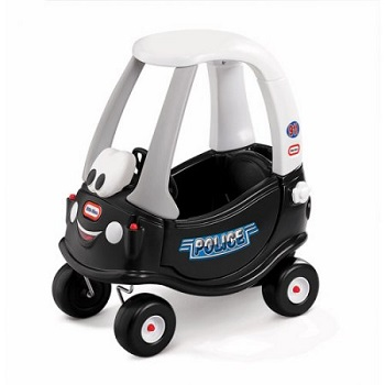 Little Tikes Patrol Police Car Cozy Coupe Ride On Toy for Kids