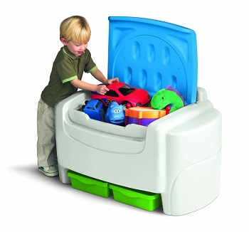 Little Tikes Bold N Biright Toy Box