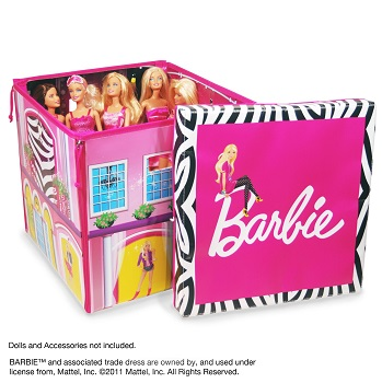 Barbie ZipBin Dream House Toybox and Playmat