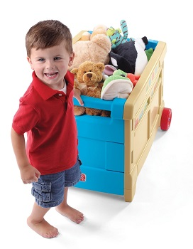 Step2 Lift and Roll Toy Box with wheels