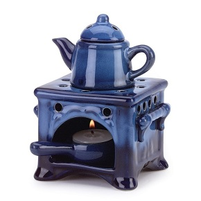 Stove Design Oil Warmer Gift